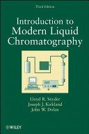 Introduction to Modern Liquid Chromatography