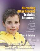 Nurturing Attachments Training Resource Book PDF