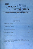 The Auburn Veterinarian Book