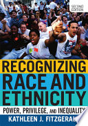 Recognizing Race and Ethnicity Book