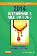 2014 Intravenous Medications - E-Book