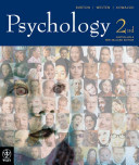 Psychology 2nd Australian and New Zealand Edition Book