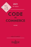 Pdf Code de commerce 2021, annoté - 116e ed. Telecharger