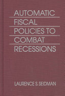 Automatic Fiscal Policies to Combat Recessions