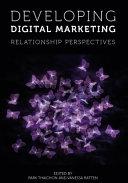 Pdf Developing Digital Marketing Telecharger