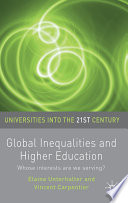 Global Inequalities and Higher Education