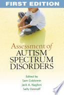 Assessment of Autism Spectrum Disorders  First Edition Book
