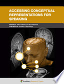 Accessing Conceptual Representations for Speaking Book
