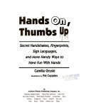 Hands On  Thumbs Up