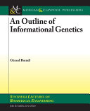 Pdf An Outline of Informational Genetics Telecharger