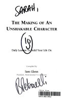 The Making of an Unshakable Character