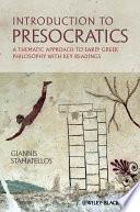 Introduction to Presocratics Book
