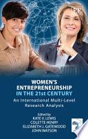 Women   s Entrepreneurship in the 21st Century
