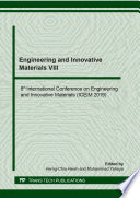 Engineering and Innovative Materials VIII