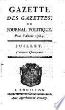 Gazette des gazettes ou Journal politique