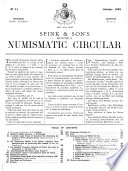 The Numismatic Circular and Catalogue of Coins  Tokens  Commemorative   War Medals  Books   Cabinets