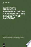 Marksizm i filosofija Jazyka / Marxism and the Philosophy of Language