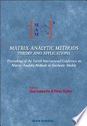 Matrix-Analytic Methods