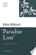 John Milton s  Paradise Lost