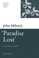John Milton's 'Paradise Lost' Pdf/ePub eBook