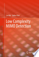 Low Complexity MIMO Detection