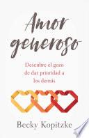 Amor generoso