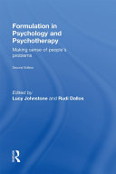 Formulation in Psychology and Psychotherapy [Pdf/ePub] eBook