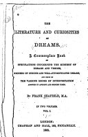 Pdf The Literature and Curiosities of Dreams
