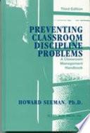 Preventing Classroom Discipline Problems Book