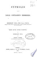 Syphilis and Local Contagious Disorders