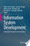 Information System Development Book PDF