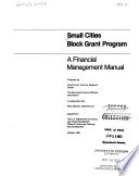 Small Cities Block Grant Program