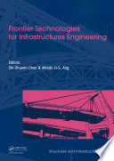 Frontier Technologies For Infrastructures Engineering Book PDF