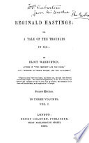 Reginald Hastings  or  A tale of the troubles in 164      Second edition  etc