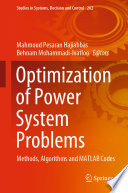 Optimization of Power System Problems