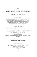 The Moulder s and Founder s Pocket Guide