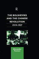 Pdf The Bolsheviks and the Chinese Revolution 1919-1927