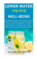 LEMON WATER for Your Well Being Book