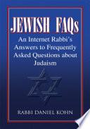 Jewish Faqs Pdf/ePub eBook