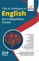 Tips & Techniques in English for Competitive Exams 2nd Edition Pdf/ePub eBook