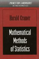 Mathematical Methods of Statistics (PMS-9)