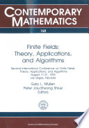 Finite Fields Theory And Computation The Meeting Point Of Number Theory Computer Science Coding Theory And Cryptography [Pdf/ePub] eBook