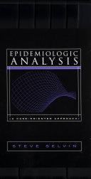 Pdf Epidemiologic Analysis