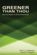 Greener than Thou Pdf/ePub eBook