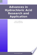 Advances In Hydrochloric Acid Research And Application 2012 Edition