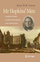 Mr Hopkins  Men