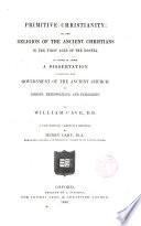 Primitive Christianity Book PDF