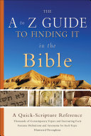 Pdf The A to Z Guide to Finding It in the Bible