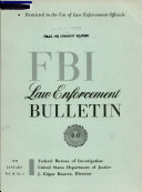 Federal Bureau of Investigation Law Enforcement Bulletin