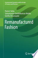 Remanufactured Fashion Book PDF